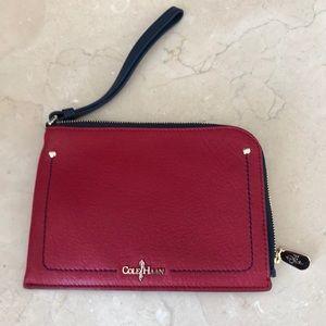 Classic Cole Haan wristlet wallet clutch